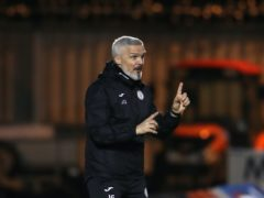 Jim Goodwin is happy Kyle McAllister has got himself fit (Andrew Milligan/PA)