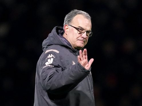 Marcelo Bielsa is aware of what is at stake when Leeds travel to Manchester United (John Walton/PA)