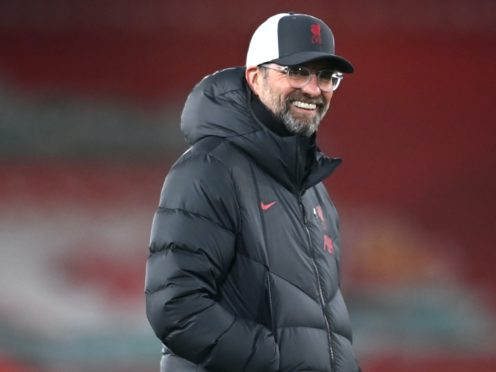 Liverpool's success brought another accolade for manager Jurgen Klopp (Laurence Griffiths/PA)