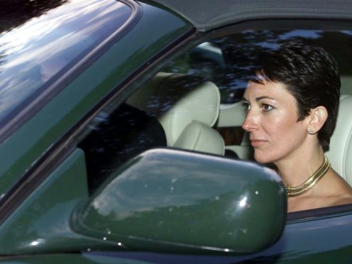 Ghislaine Maxwell has had her latest bail application rejected by a US judge (Chris Ison/PA)