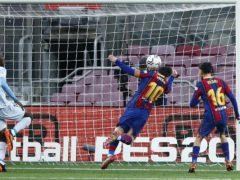 Despite Lionel Messi's goal, Barcelona once again came up short (Joan Monfort/AP)