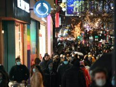 Millions have been forced to tear up their Christmas plans following new Covid restrictions (Stefan Rousseau/PA)