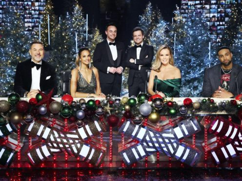 Old favourites returned for the Britain's Got Talent Christmas Spectacular (Matt Frost/Thames TV/PA)