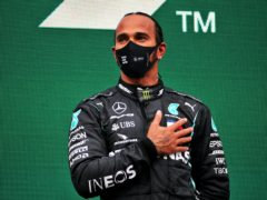 Lewis Hamilton won BBC Sports Personality of the Year (PA)