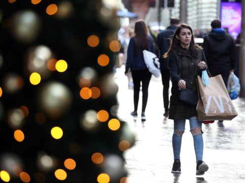 """The President of the Royal College of Physicians and Surgeons of Glasgow has said there will be a """"cost"""" for allowing household mixing in Scotland on Christmas Day (Andrew Milligan/PA)"""