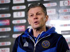 Steve Cotterill has sparked a Shrewsbury resurgence (Zac Goodwin/PA)
