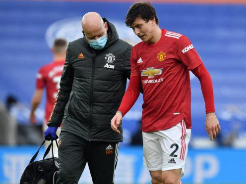 Victor Lindelof has a back issue (Glyn Kirk/PA)
