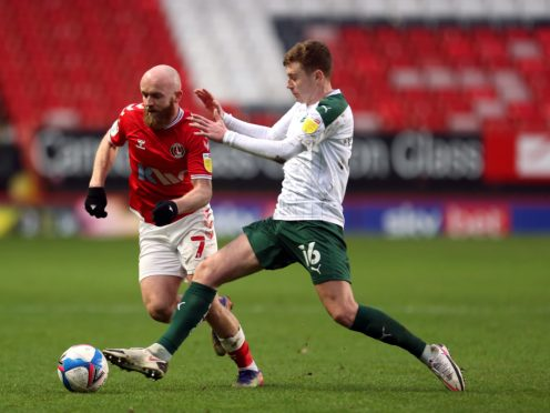 Lewis Macleod (right) is fit for Plymouth's clash with Oxford (Steven Paston/PA)
