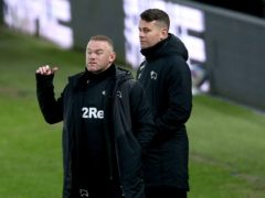 Wayne Rooney (left) remained upbeat despite Derby's loss to Preston (Nigel French/PA)