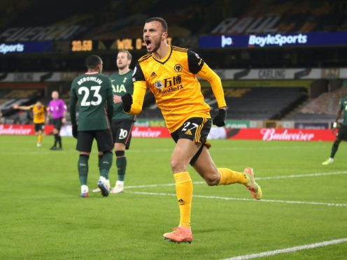 Wolves are back in action 48 hours after drawing with Spurs on Sunday (Carl Recine/PA)