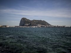 Gibraltar seen from the neighbouring Spanish city of La Linea (AP/Javier Fergo, File)