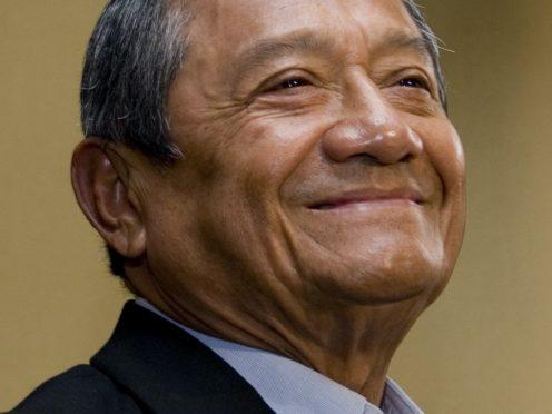 Armando Manzanero died in Mexico City (AP Photo/Denisse Pohls)