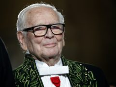 French fashion designer Pierre Cardin (Christophe Ena/AP)