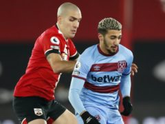Said Benrahma had a late chance for West Ham (Andrew Boyers/PA)
