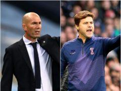 Zinedine Zidane and Mauricio Pochettino feature in today's football rumours (Jonathan Brady/Shaun Botterill/PA)