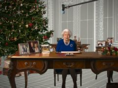 Deepfake of the Queen in Channel 4's alternative Christmas message (Channel 4/PA)