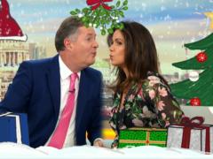 Piers Morgan and Susanna Reid (ITV/PA)