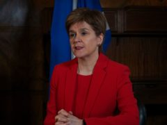 Nicola Sturgeon said 2021 can be a 'year of recovery' (Scottish Government/PA)