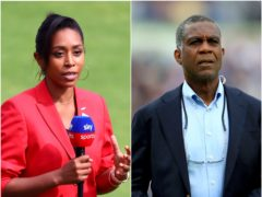 Ebony Rainford-Brent and Michael Holding both spoke about the racism they faced earlier this summer (PA)