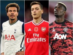 Mesut Ozil, Dele Alli and Paul Pogba are among those who could be on the move (PA)