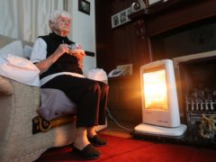Just under 25% of all households are in fuel poverty (Peter Byrne/PA)
