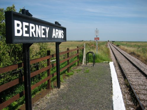 Berney Arms in Norfolk was Britain's least used railway station in the past year, the Office of Rail and Road said (Ian Jones/PA)