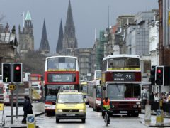 The Scottish Government has announced further funding to help bus operators in the wake of the Covid-19 pandemic (Andrew Milligan/PA)