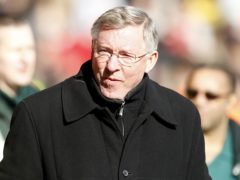 """Sir Alex Ferguson admits he is glad he retired when he did due to Liverpool's """"phenomenal"""" form (Peter Byrne/PA)"""