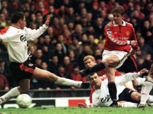 Ole Gunnar Solskjaer fired Manchester United to an FA Cup win against Liverpool in 1999 (Peter Wilcock/PA)