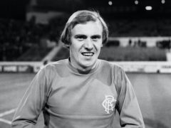 Former Rangers striker Colin Stein scored the late equaliser that day (PA)