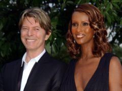 David Bowie and Iman (Yui Mok/PA)