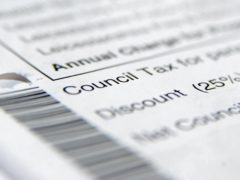 The charity believes council tax arrears could worsen in the year ahead (Joe Giddens/PA)