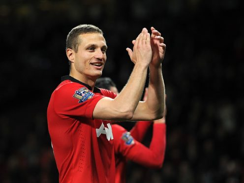 Former Manchester United captain Nemanja Vidic announced his retirement from football on this day in 2016 (Martin Rickett/PA)
