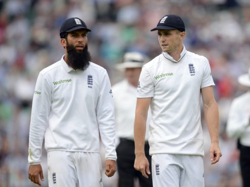 Chris Woakes, right, was identified as a close contact of Moeen Ali (Andrew Matthews/PA)