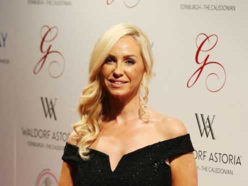 Josie Gibson said she put on weight during the pandemic (Andrew Milligan/PA)