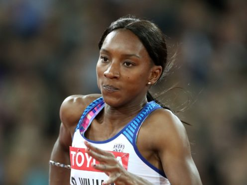 Sprinter Bianca Williams accused the Metropolitan Police of 'racially profiling' her and her partner, Ricardo dos Santos (Martin Rickett/PA)