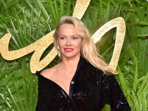 Pamela Anderson has reportedly tied the knot with her bodyguard (Matt Crossick/PA)