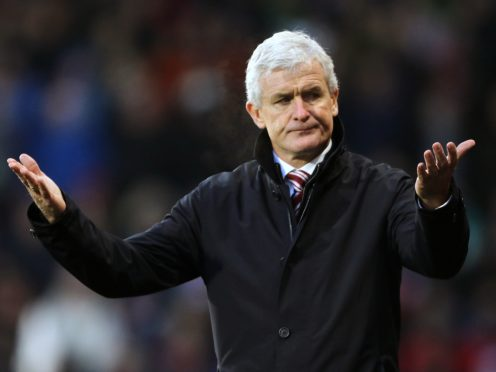 Mark Hughes' four-and-a-half-year reign as Stoke manager ended on this day in 2018 (Richard Sellers/PA)