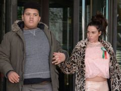 Katie Price has reportedly decided to move her son Harvey into a residential college (Nick Ansell/PA)