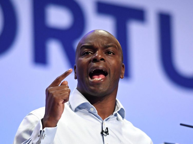 Shaun Bailey, Conservative candidate for London mayor (Stefan Rousseau/PA)