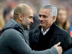 Pep Guardiola, left, and Jose Mourinho have had some memorable matches down the years (Martin Rickett/PA)