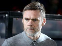 Graham Alexander was unhappy with St Mirren's penalty award (Martin Rickett/PA)