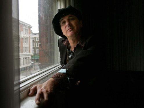 Sylvain Sylvain of The New York Dolls (Jane Mingay/PA)