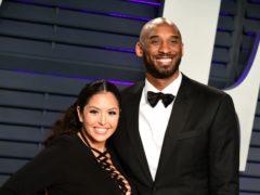 Kobe and Vanessa Bryant (Ian West/PA)
