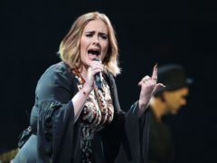 Adele showed her support for Chorley on Twitter (Yui Mok/PA)