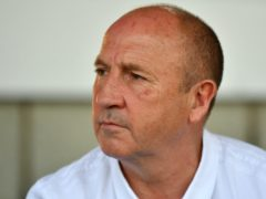 Accrington boss John Coleman has warned of a fixture pile-up (Anthony Devlin/PA)
