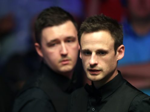 Kyren Wilson and David Gilbert will play each other in the quarter finals after both players won 6-2 on Sunday (Simon Cooper/PA)