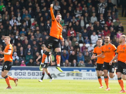 Nicky Clark is set to sign a new deal at Dundee United (Jeff Holmes/PA)