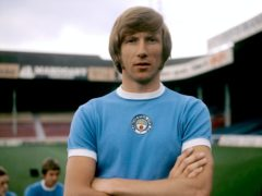 Former Manchester City and England midfielder Colin Bell has died at the age of 74 (PA)
