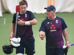 Joe Root (left) is set to join Graham Thorpe as an owner of 100 Test caps (David Davies/PA)
